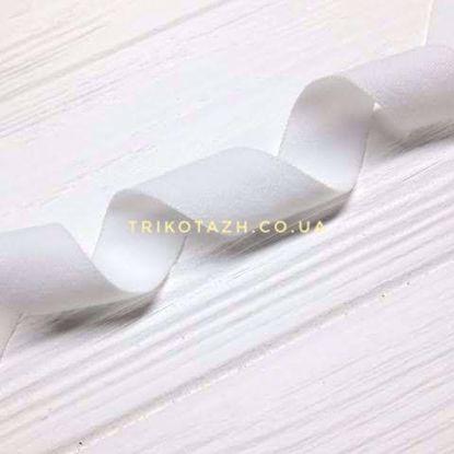 Изображение Резинка пополамка матовая, Белый